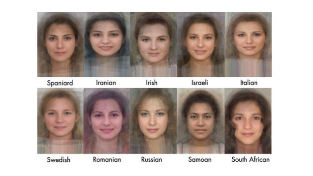 Different facial expressions for different countries