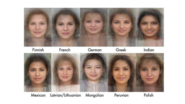 Interesting: See The Average Face Of Women From 40 ...