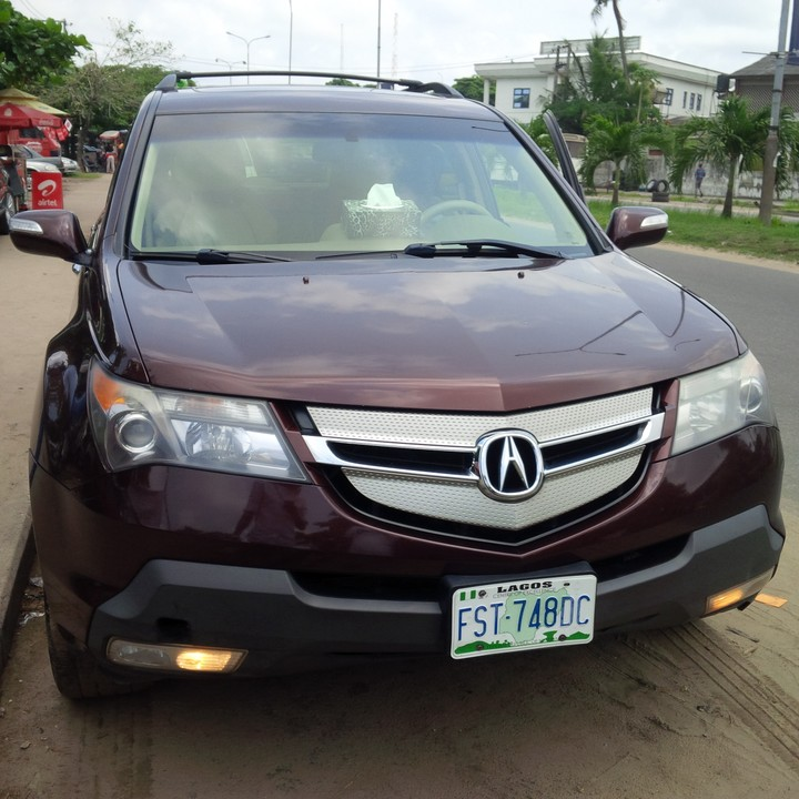 2008 Acura Mdx Registered For Sale Extremely Clean And