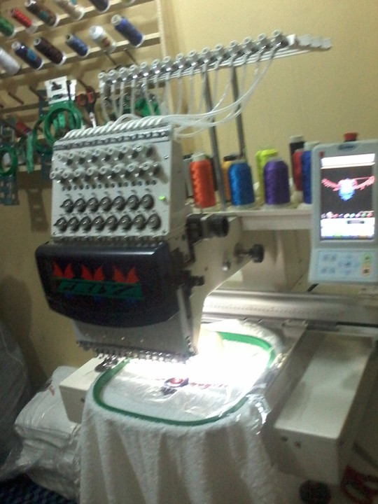 Selling New Feiya Industrial Embroidery Machines In ...