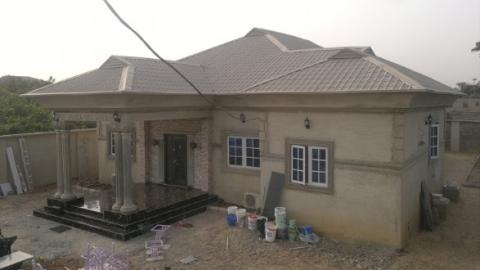 Cost of building 4 bedrooms bungalow with 2 sitting rooms for Cost of building a 4 bedroom bungalow in nigeria 2017