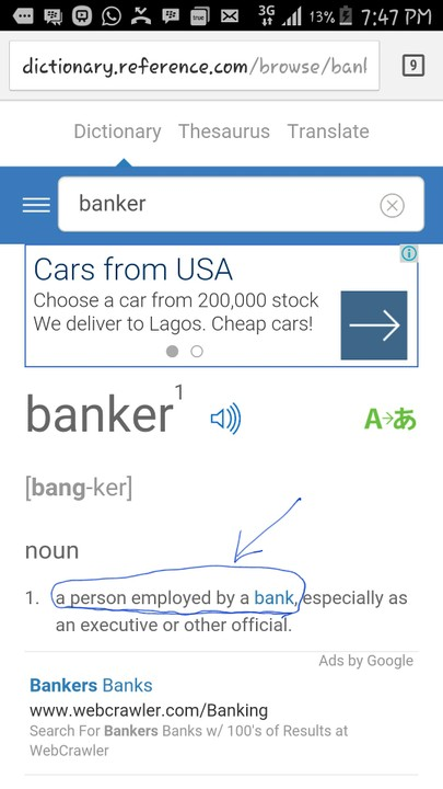 whats a banker