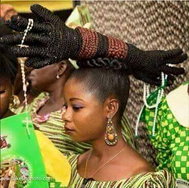 Give A Name For This Braided Hairstyle Celebrities Nigeria