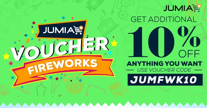 10 Discount Vouchers On Jumia With Code Jumfwk10 Events Nigeria – Shop Discount Vouchers