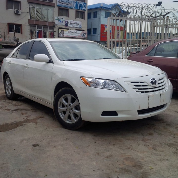 toyota camry 2007 white. callsms 07085141696 08053779218 08139338897whatsapp email elshanautomobilesgmailcom re sold white toyota camry muscle 2007