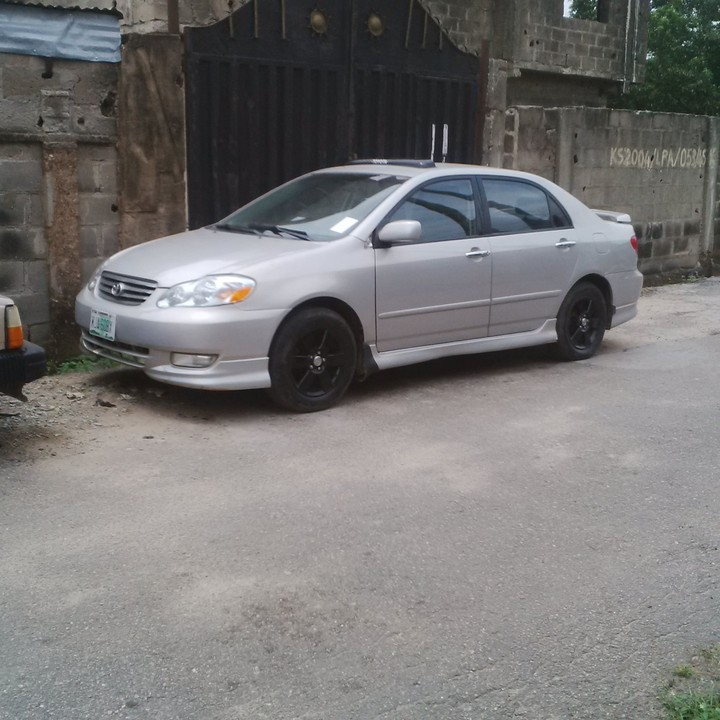 used toyota corolla sport 2004 for sale photos autos nigeria. Black Bedroom Furniture Sets. Home Design Ideas