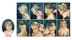 Learn how to make your hair in 5 mins with clip in hair extensions nb the clips can be removed anytime and used for another hair extensions since the clips are small you can sleep with them in they are super comfortable pmusecretfo Choice Image