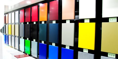 Affordable aluminium composite panel acp from for Aluminium composite panel interior decoration