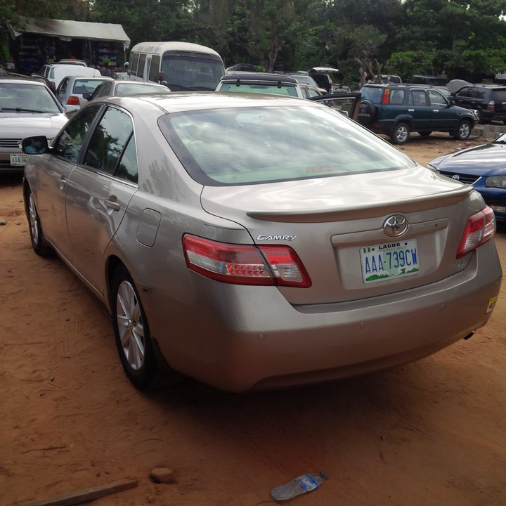 2008 toyota camry registered upgraded to 2010 for sale autos nigeria. Black Bedroom Furniture Sets. Home Design Ideas