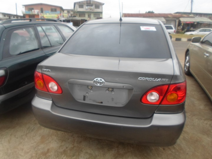 2003 toyota corolla contact 07035693264 asking price. Black Bedroom Furniture Sets. Home Design Ideas