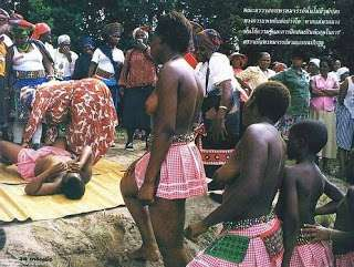 OMG!!! Photos Of Girls Vir ginity Publicly Tested Before Choosing A Wife for Swaziland King