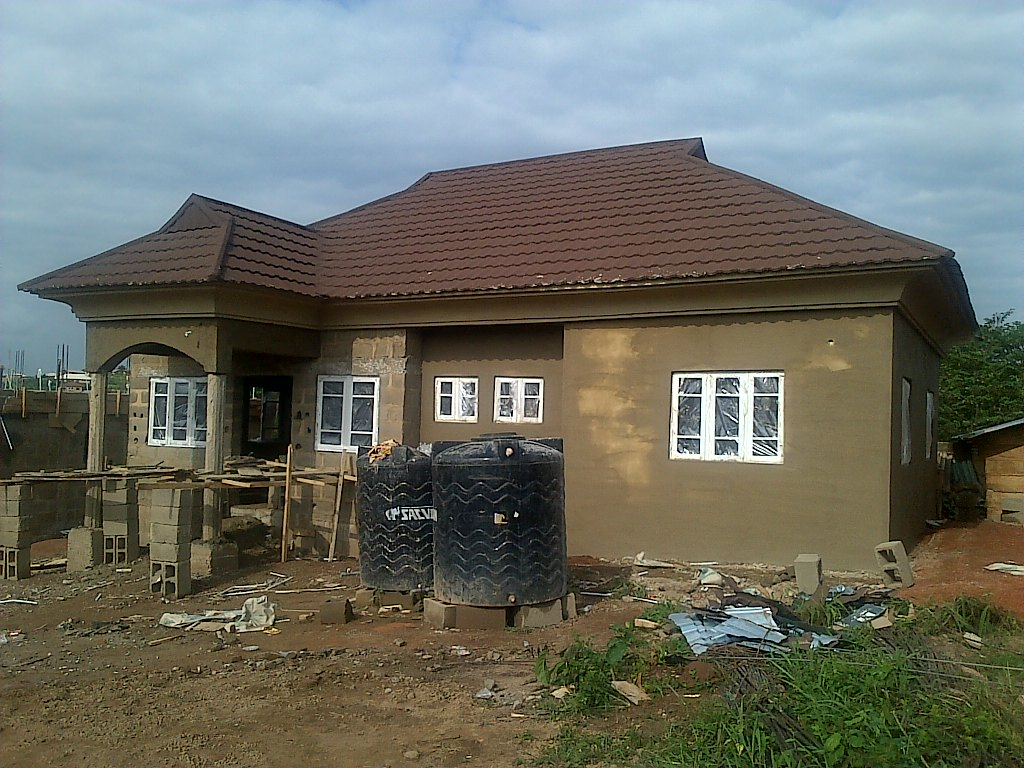 Pictures of some of our quality stone coated roofing tiles projects properties nigeria