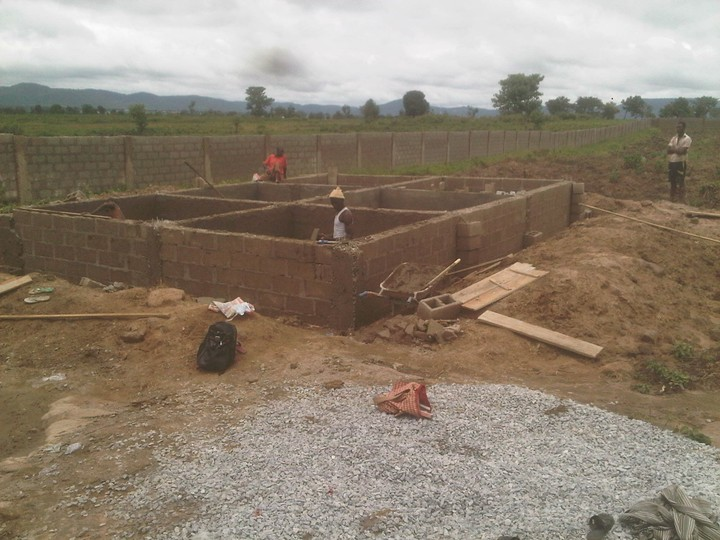 Fish pond construction concrete pond agriculture 1 for Concrete fish pond construction and design