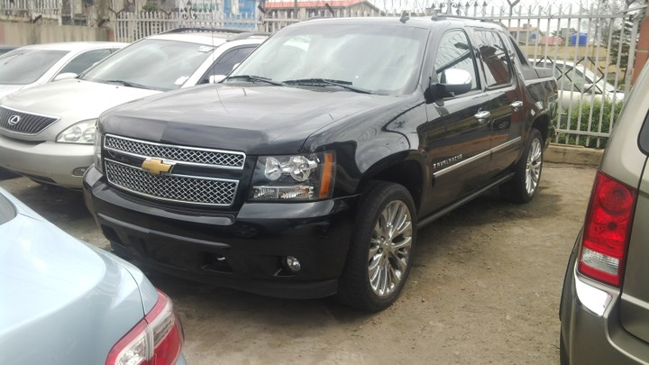 Tokunbo Chevrolet Avalanche 2009 Model Double Cabin