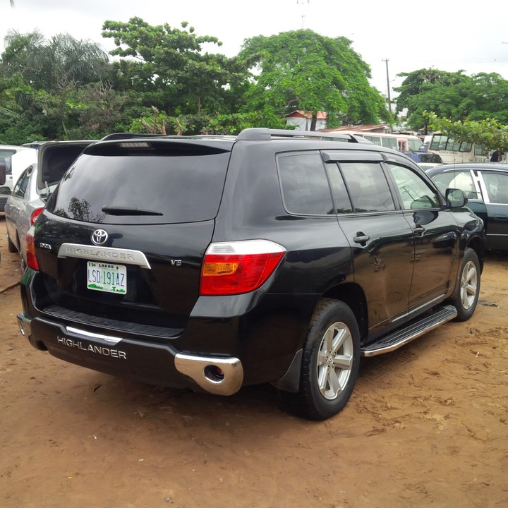 2008 toyota highlander registered for sale autos nigeria. Black Bedroom Furniture Sets. Home Design Ideas