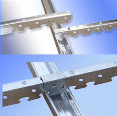 Suspended Ceiling Tee Bar And Acoustic Ceiling Tiles