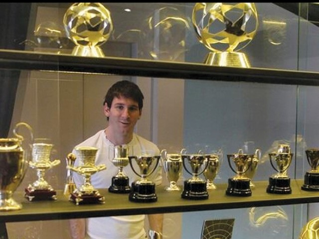 Checkout Lionel Messi Trophy Room