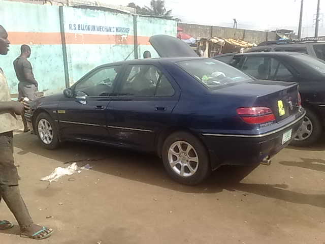 peugeot 406 saloon 2000 model for grabs - autos - nigeria