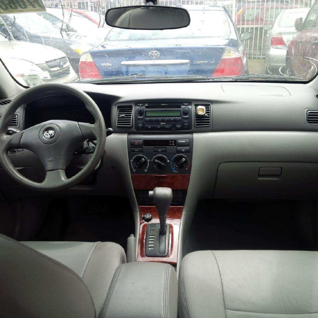 sold toyota corolla le 2007 leather interior autos. Black Bedroom Furniture Sets. Home Design Ideas
