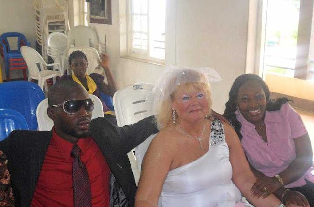 26 Years Old Nigerian Man Weds 63 Years Old American