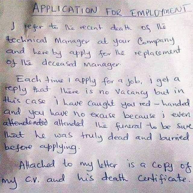 A graduate job seeker brought this letter to my office jobs 1 like thecheapjerseys Images