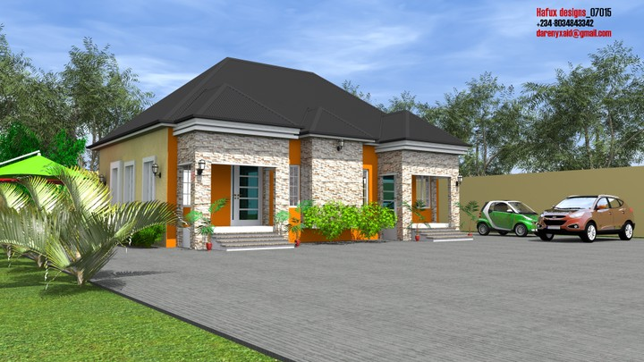 Contemporary nigeria building designs by hafux consuls Twin bungalow plans