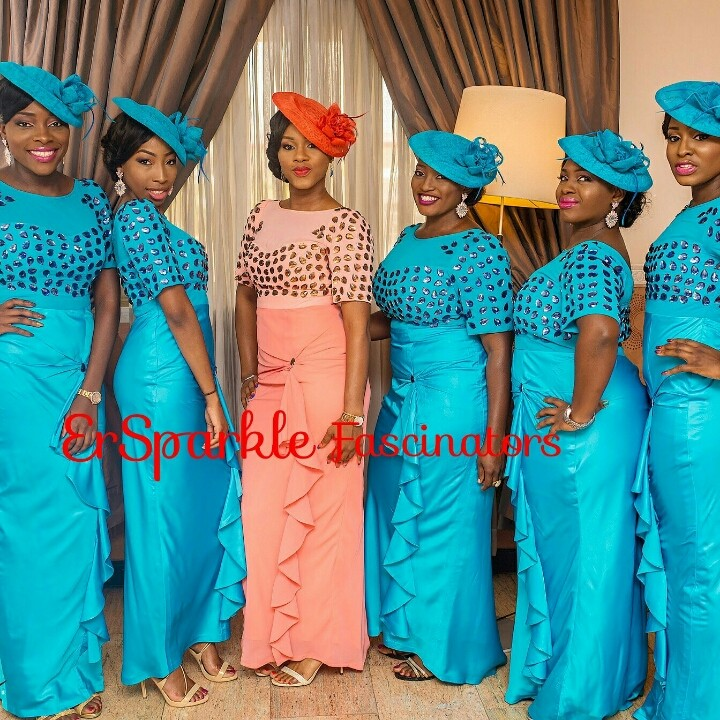 Bridesmaids Fascinators New Pictures Events Nigeria