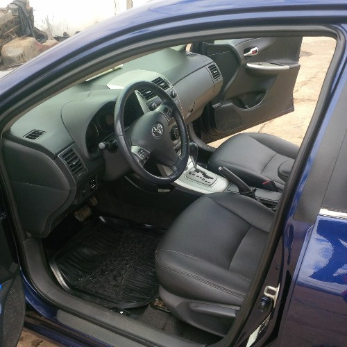 Neatly Used 2012 Toyota Corolla With Leather Seats Autos Nigeria