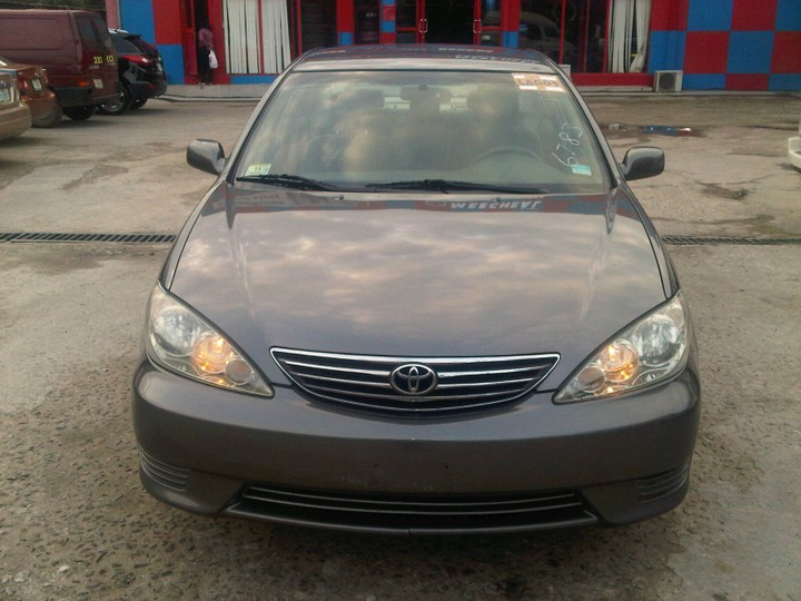 sold 2006 toyota camry le brown color autos nigeria. Black Bedroom Furniture Sets. Home Design Ideas