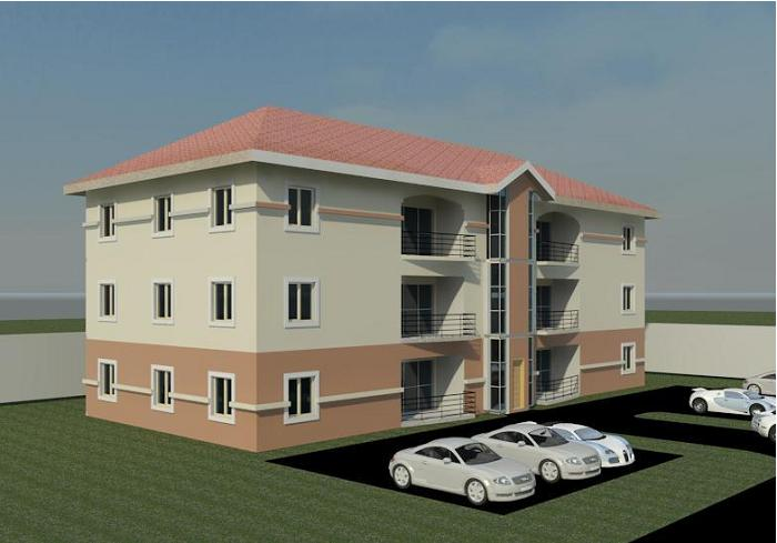 Affordable architectural designs for nairalanders for Architectural designs for 3 bedroom flat