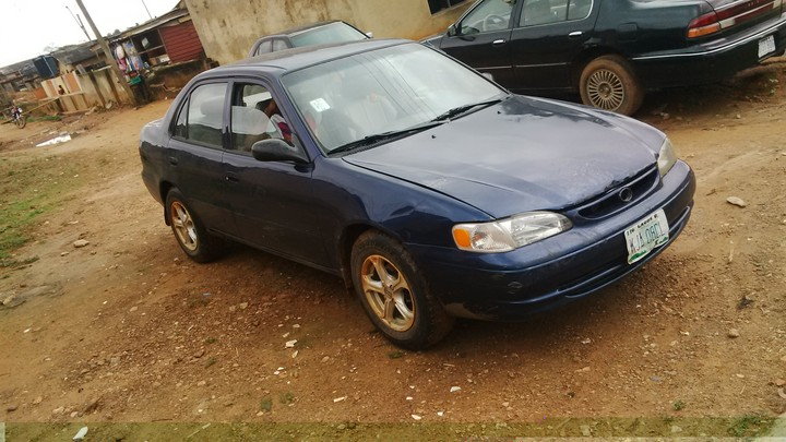 1year used 1999 toyota corolla 560k autos nigeria. Black Bedroom Furniture Sets. Home Design Ideas