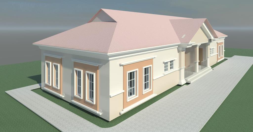 6 Likes 1 Share  Re Construction Of Two Unit Semi Detached Bedroom Flat Ogidi