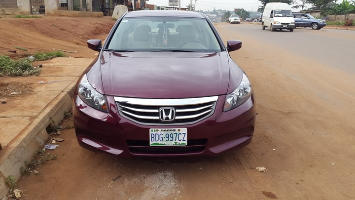2011 Honda Accord For Quick Sale Autos Nigeria