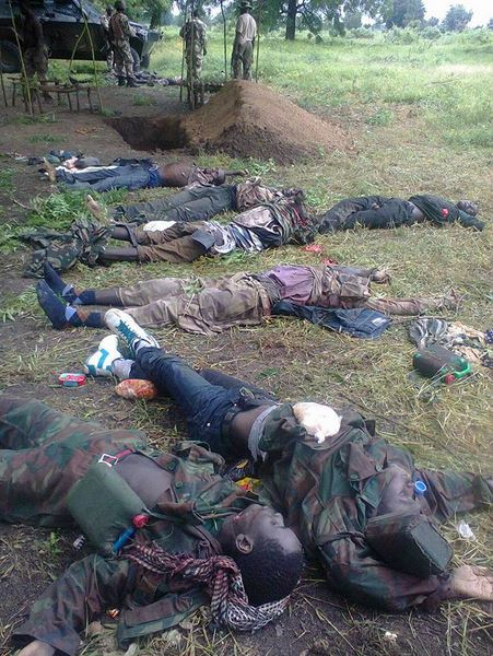 Photos See The Dead Bodies Of Boko Haram Militants -5061