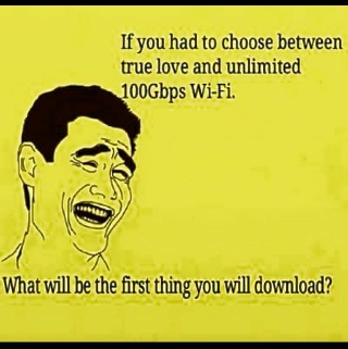 if you had to choose between true love u0026 unlimited 100gbps wifi webmasters nigeria