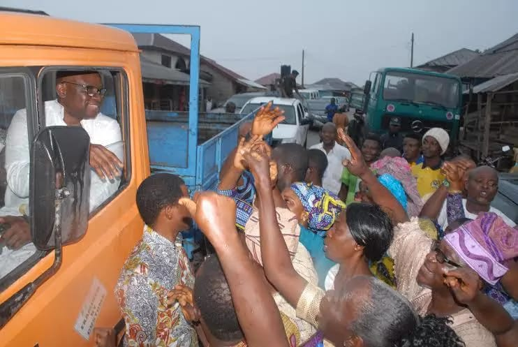 The Car Fayose Drove To Inspect State Project Today In Ekiti (Photos)