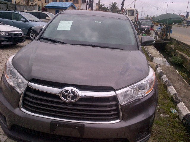 2014 toyota highlander for sale autos nigeria. Black Bedroom Furniture Sets. Home Design Ideas