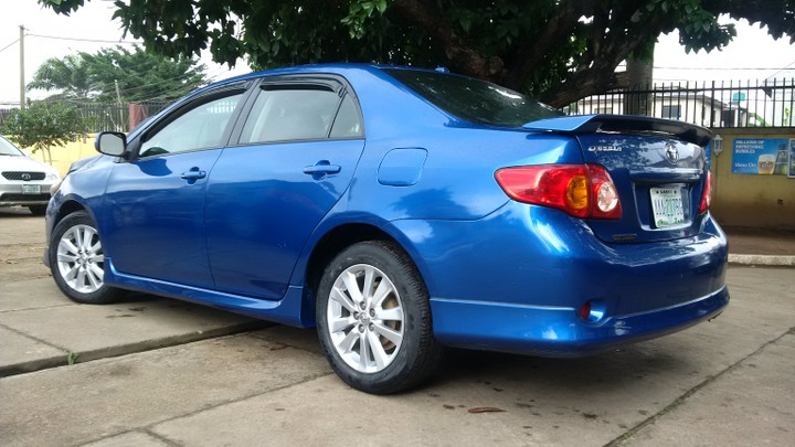 2009 Toyota Corolla Sport Edition For Sale   Autos   Nairaland