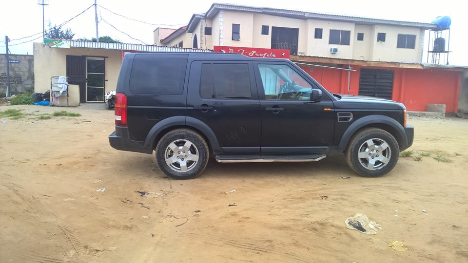 registered 2006 land rover lr3 for sale autos nigeria. Black Bedroom Furniture Sets. Home Design Ideas