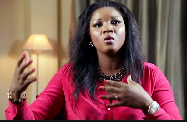 Image result for images of Omotola Jalade angry face