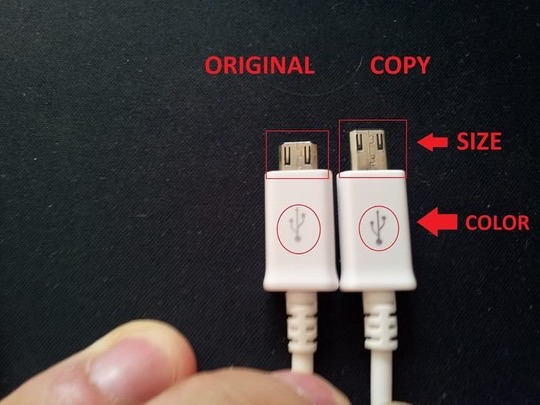 How To Identify Fake Samsung Charger Photos Technology