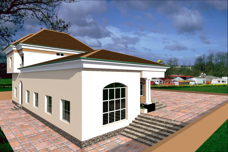 Building From The Diaspora 3 Bedroom Bungalow Penthouse