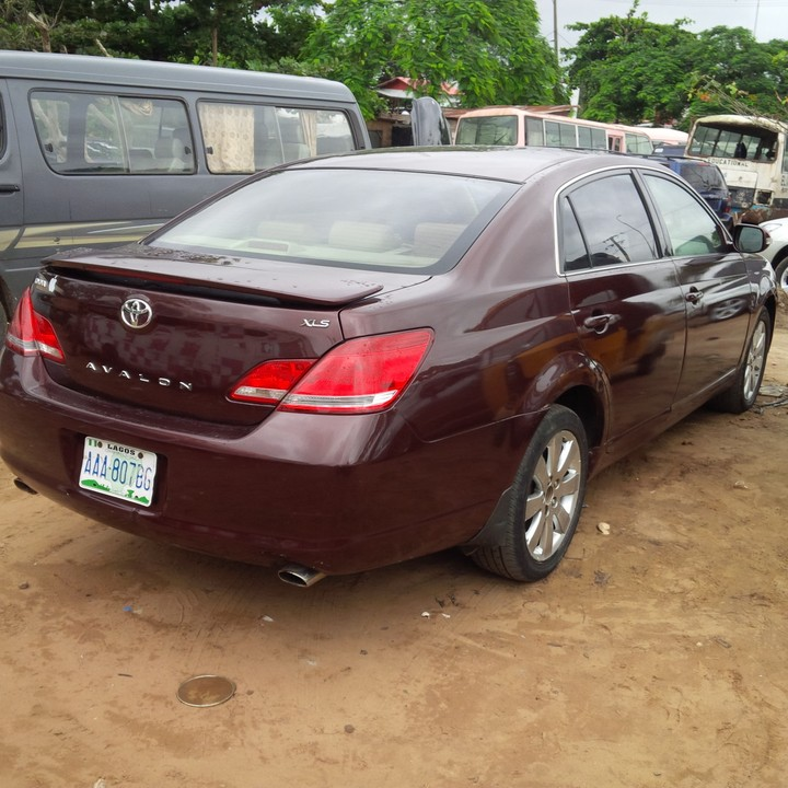2007 toyota avalon registered for sale autos nigeria. Black Bedroom Furniture Sets. Home Design Ideas