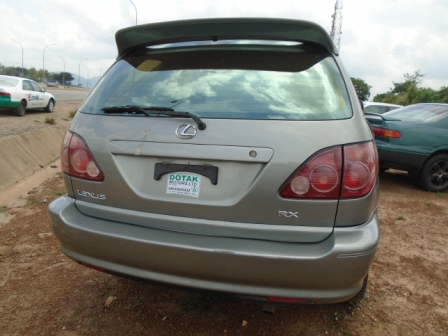 tokunbo 2000 lexus rx300 for sale autos nigeria. Black Bedroom Furniture Sets. Home Design Ideas