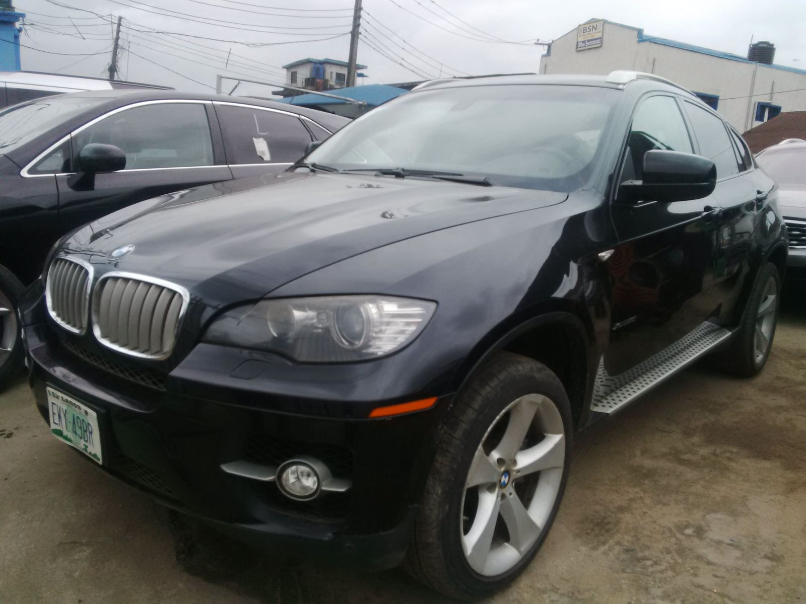 Registered Bmw X6 2009 Model Extremely Clean First Body This Car Is