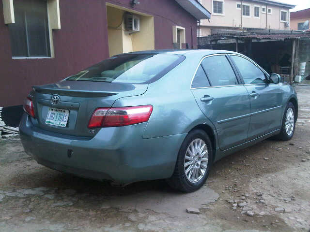 registered toyota camry 2008 model extremely clean autos nigeria. Black Bedroom Furniture Sets. Home Design Ideas