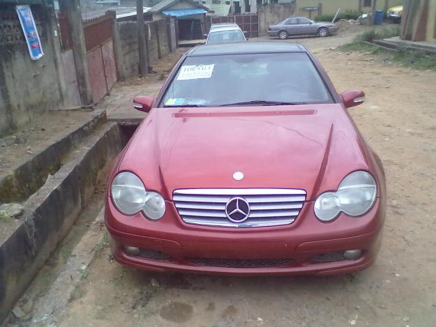 american used 2003 mercedes benz c 200 kompressor coupe for sale for