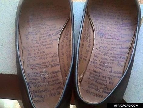 New Method Of Cheating In An Exam Hall Discovered - Education - Nigeria