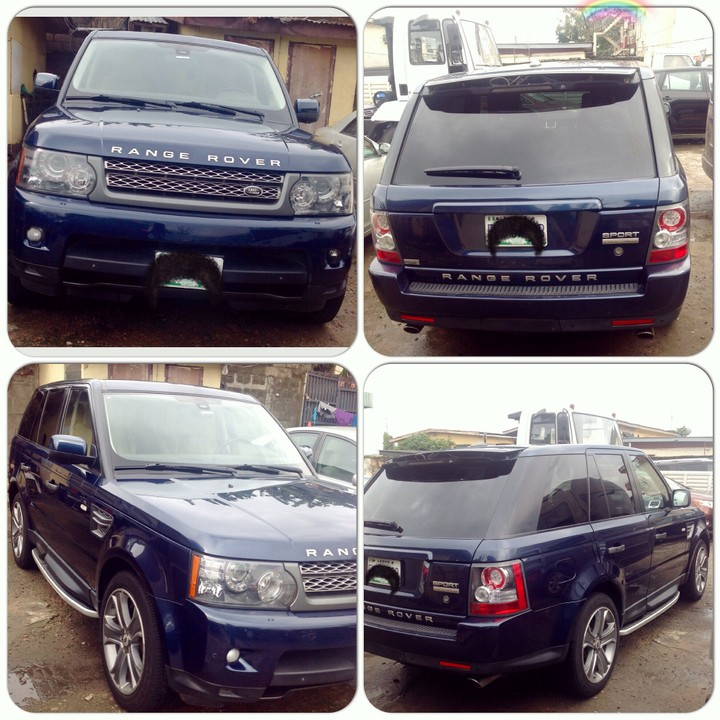 SOLD Excellent Condition 2011 Range Rover Sports