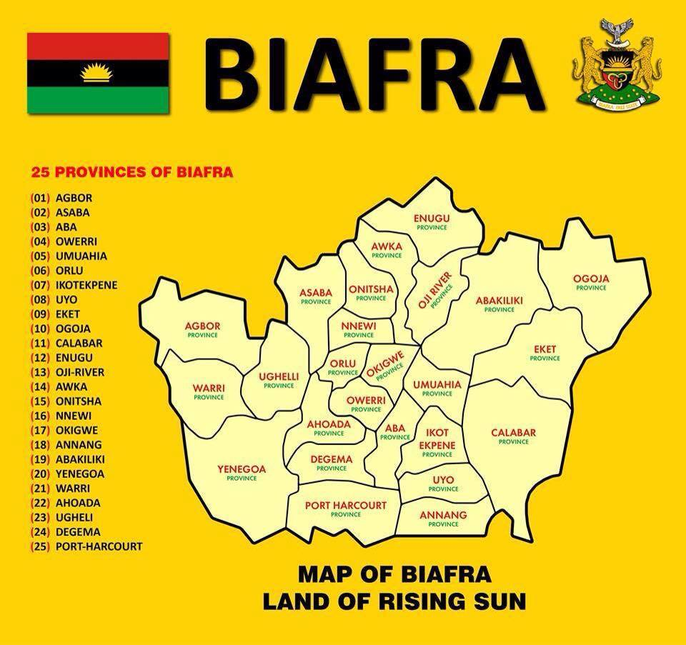 The biafra map politics nigeria thecheapjerseys Image collections